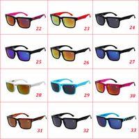 al por mayor timón bloque ken-33 colores Gafas de sol del timón del bloque de Ken del diseñador de la marca de fábrica Gafas de sol multicolor de la lente de la capa del envío de la venta caliente