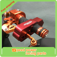 Wholesale Red New Supermoto Motorcycle High Quality CNC Grip Lock Security Lever Handle Bar Throttle Lock Brake Lock