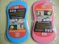 Wholesale Auto Car Bone Style Wash Cleaning Expanding Sponge Pad Cleaner