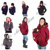 Wholesale Baby Carrier Jacket hoodie Kangaroo coat Maternity Hoodie Pullover Babywearing Kangaroo Maternity Pregnant Women winter Outerwear Coat Z540B