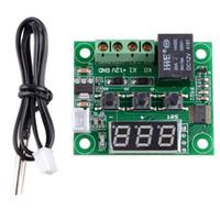Wholesale W1209 Digital thermostat Temperature Control Switch DC V Sensor Module B00154 SPDH