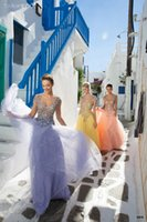 beading butterfly patterns - Long Evening Dresses Off Shoulder Short Sleeve Butterfly Pattern Sequins Lace Evening Dress A Line Sweep Train Prom Gown