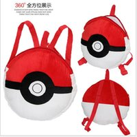 backpack united states - Europe and the United States sell high quality plush dolls qiaqiu than single shoulder elf plush ball bag
