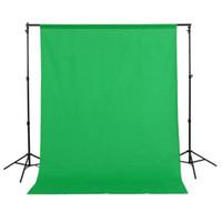 1.5x3m / 5x10ft 100% algodón muselina PRO foto de la fotografía, fondo verde