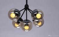 Cheap Modo Chandelier 5 globes Modern Glass Chandeliers Jason Miller pendant lamp Droplight Living Room Dining Room roll hill