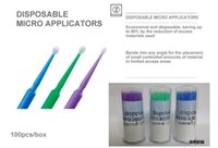 Wholesale 400 Dental Disposable Micro Applicator Brush Bendable Dia MM four colors size for choose