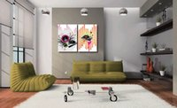 acoustic wall panels - Contemporary Fine Acoustics Picture Giclee Print On Canvas Home Wall Decoration Art Set20069