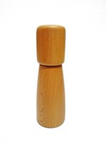 Wholesale New Design High Quality Wooden Pepper Mill Condiment Grinding Spice Herb Manual Grinder Salt Pepper Mills