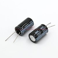 Wholesale uF V DIP Aluminum Electrolytic Capacitor size mm mm