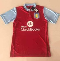 aston villa jersey - NEW Aston Villa soccer jerseys Home red Aston Villa jerseys top thai quality de foot maillot