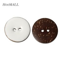 Wholesale 10PCs Coconut Shell Buttons mm Fit Sewing And Scrapbooking Round Buttons Sewing Accessories order lt no track