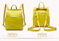 best ladies backpack - Facotry Whosale best shoulder bag leather bag Cowhide Backpack women school bag High end mochila bag