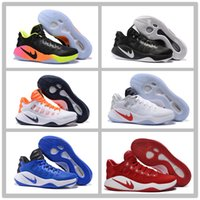 Wholesale Free Postage Hyperdunk Basketball Shoes Low cut For Men s Paul George Olympic Running Shoes Summer Mesh Pink Black Basketball Sneaker