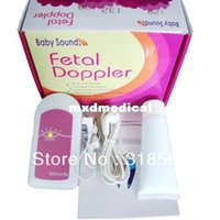 Wholesale Pocket Fetal Doppler Baby Monitor Babysound A Baby heartbeat CE FDA approved