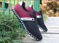 Wholesale New comfortable breathable men athletic shoes Super Light mesh running shoes super cool sport shoes sneakers free run size39