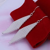 Ruby amber jewelry for sale - E061 hot sale popular net shaped pendant earrings high quality fashion jewelry For women