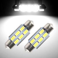 aluminum license plates - 36mm SMD Canbus Error Free LED Bulb Festoon Lights License Plate Aluminum Shell Dome Reading Light