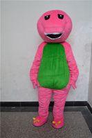 barney apparel - 2016 Barney dinosaur mascot cartoon cute mascot apparel factory customized customized private walking holiday
