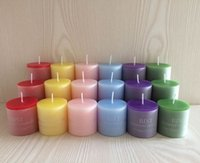 Wholesale scented candles wax candle thanksgiving candles christmas decorations christmas gift home wedding candles party decor size mixed per