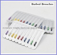 Wholesale 10 Packs Dental Endodontic Files Root Canal Short Barbed Broaches Assorted mm VIMEL Professional Dental Supplier