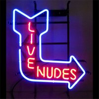 arrow shops - Live Nudes Arrow Neon Sign Custom Store Display Beer Bar Pub Club Led Light Signs Shop Decorate Real Glass Tube Bulbs quot x14 quot