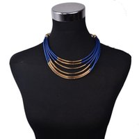 america sweaters - 1pcs by sold hot selling Europe and America Popular Jewelry Set Exaggerate Earrings Necklace Suits Classical Colorful Sweater Chain
