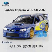 Wholesale KINSMART DieCast Models Scale Subaru Impreza WRC toys for children s gifts or for collection pull back educational limited
