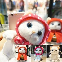 animals plastic bags - 2016 Fashion Newest D Cartoon Cute Animal Panda Cat Plush Toys Cell Phone Case For iphone Hard Capa Phone Bag