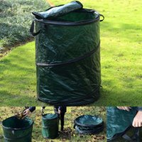 Wholesale Collapsible Pop Up Camp Trash Can Portable Outdoor Garbage Hiking Storage New OP2817