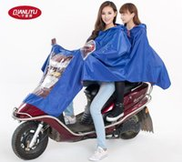 Wholesale Thousands of rain raincoat electric double raincoat car battery motorcycle with adult double fertilizer in Oxford