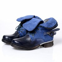 best western orange - TIPTOP Shoes Winter New Arrival Women Genuine Leather Causal Short Boots Best Quality Brushed Western Boots Brown blue orange