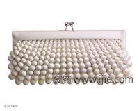 Wholesale The new han edition pearl handbags hand bag at the bride handbags bags banquet bag pearl chain