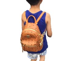backpack toppings - Top Quality korean PVC leather backpack for children boys and girls sprots backpack school backpacks brand bag size for cm