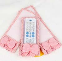 ant condition - Lace fabric remote control set of remote control dust cover air conditioning remote control set of manual dust bag g