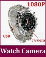 Wholesale built in GB W2000 Camera DVR HD video recorder x1080P with IR Night Vision function HD Waterproof Watch Camera
