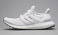 shoes size 5 women - Original All White Mesh Ultra Boost Kanye West Men Women Running Shoes Fashion Sports Trainer Sneaker With Box Size US