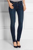 Wholesale 2016 autumn rag bone women s jean elastic Dark Blue tight skinny jeans trousers ol fashion pencil pants