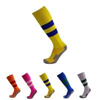 Wholesale Children s football long barreled socks striped socks non slip socks female boys boys soccer aerobics stockings socks brace ice