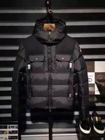 Wholesale 2016 new men down jacket good quality white duck down winter jacket