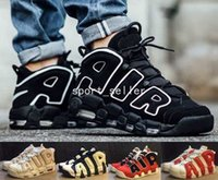 air asia - 2017 Air More Uptempo OG Olympic Varsity Red Asia Hoop Pack White Gum Basketball Shoes For Men Women Big Pippen Sport Sneakers Trainers