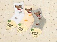 bear socks - Baby Socks Socks Cotton Combed Cartoon Socks Small Bear Cartoon Pure Cotton Cotton Socks Children Socks New Cartoon Children