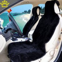 sheepskin car seat covers - Interior Accessories Seat Covers Auto fur capes The universal car seat cover natural fur sheepskin sewn from pieces of sheepskin