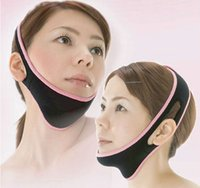 Wholesale Face Lift Up Belt Sleeping Face Lift Mask Massage Slimming Face Shaper Relaxation Facial Slimming Mask Face Lift Bandage ZA0206