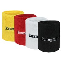 athletics wrist bands - Sport Wristband wrist Sweatband Athletic Cotton Terry Cloth Wrist Sweat Bands for Basketball Running Tennis Squash Badminton Crossfit Sports