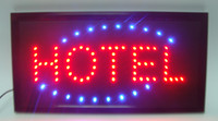 Wholesale Led hot sale X19 inch indoor Ultra Bright running Hotel shop Neon light sign board