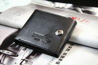 american shanghai - Wallets Holders Wallets Bifold Wallet Men s Genuine Black Credit ID Card Holder Slim Purse Gift gifts shanghai