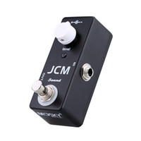 Wholesale JCM Sound Electric Guitar Effect Pedal Durable Zinc Aluminium Alloy Mini Single Effect with Clean Boost True Bypass