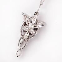 arwen evenstar pendant - Popular Necklaces Arwen Evenstar necklace the Elves princess fashion crystal silver pendant Gift for women