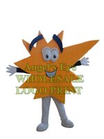 advertise banner ads - Orange Advertising Spark Mascot Costume Cartoon AD Banner Costumes logo print color custom carnival fancy dress