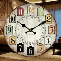 Wholesale frozen large decorative wall clocks modern design silent Living Room Wall Clock wall watches home decor orologio parete